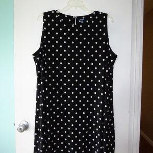 Chaps Sleeveless Dress 22W, EUC